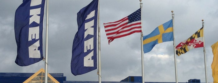 IKEA Baltimore is one of Favorite Stores.