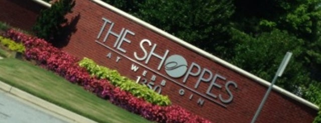 The Shoppes at Webb Gin is one of places.