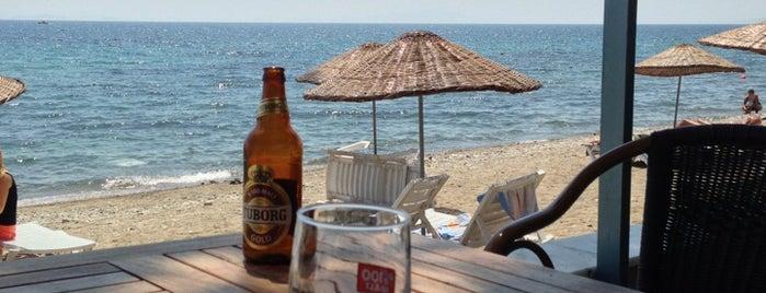 Antandros Beach Club is one of doğallık..