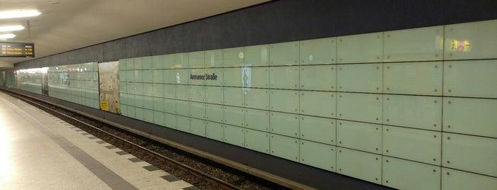 U Amrumer Straße is one of U-Bahn Berlin.