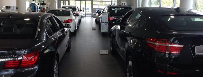 BMW Бавария Моторс is one of Магазины.