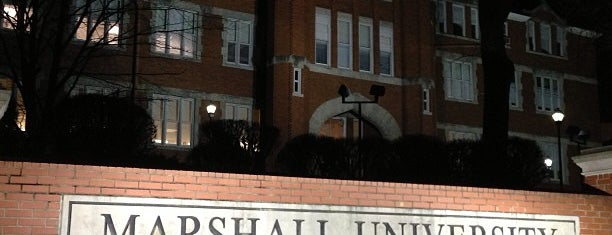 Marshall University is one of College Love - Which will we visit Fall 2012.