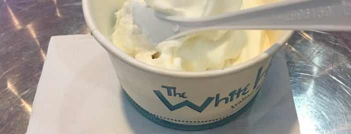 The White Hat is one of Uber Yogurt.
