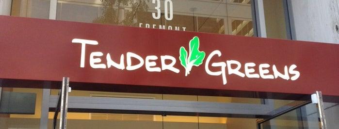 Tender Greens is one of SF.