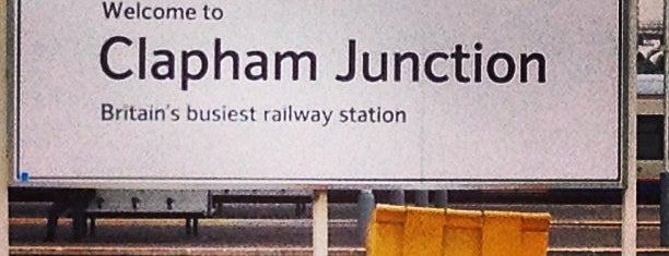 Clapham Junction Railway Station (CLJ) is one of Railway stations I've been to.