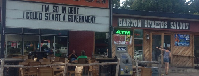Barton Springs Saloon is one of Austin.