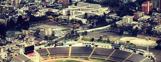Estadio Olimpico Atahualpa is one of Ecuador best spots.