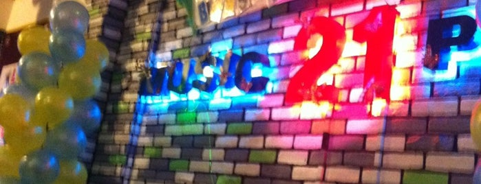 Music 21 Plaza is one of Videoke BARS!.