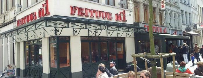 Frituur No. 1 is one of Antwerpen #4sqCities.