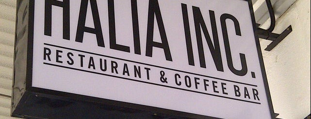 Halia Inc Restaurant & Coffee Bar is one of Coffee.