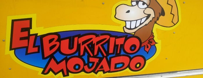 El Burrito Mojado is one of Epicurious!.