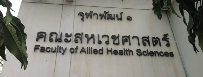 Faculty Of Allied Health Science is one of Chulalongkorn University.