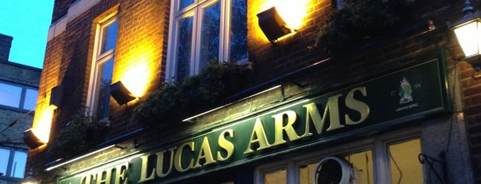The Lucas Arms is one of London.