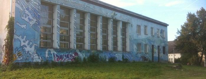 Mural na Szkole is one of Street Art w Krakowie: Graffiti, Murale, KResKi.