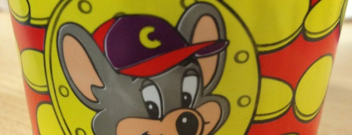 Chuck E. Cheese's is one of Restaurants.