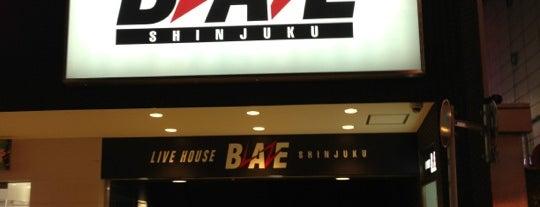 Shinjuku Blaze is one of ライブ、イベント会場.