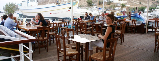 Lunch or Dinner at Diakofti is one of A rainy day on Patmos....