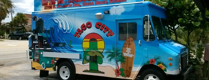 Taco City is one of cocoa beach.