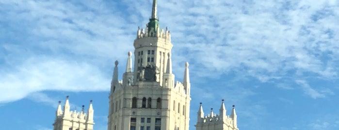 Kotelnicheskaya Embankment Building is one of 100 примечательных зданий Москвы.