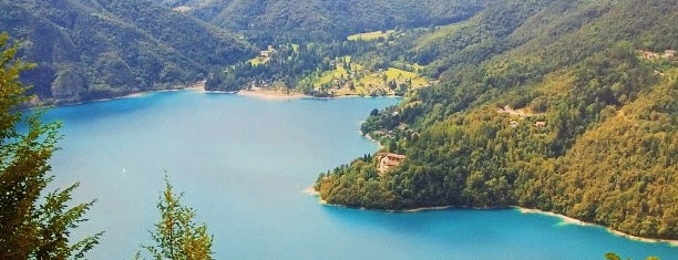 Lago di Ledro is one of Trentino.