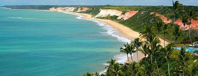Praia Pitinga is one of Porto Seguro, Brazil.