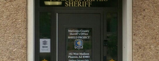 Maricopa County Sherrif's Office is one of Landmarks of Interest for J-Students.