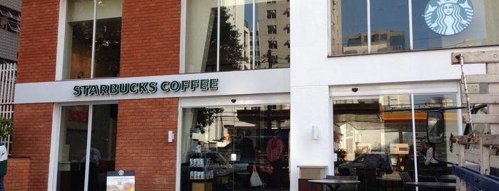 Starbucks is one of Café da Manhã.