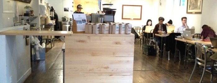 Pushcart Coffee is one of NYC 2.