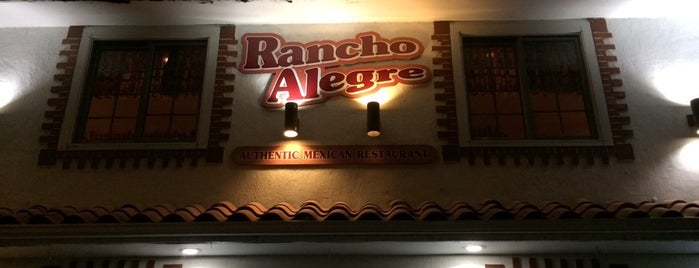Rancho Alegre Mexican Restaurant is one of CT Food to Try (casual).