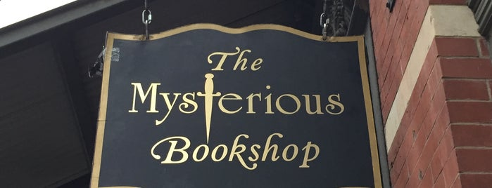 The Mysterious Bookshop is one of Bookeries.