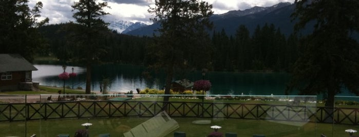 The Fairmont Jasper Park Lodge is one of Canada Favorites.