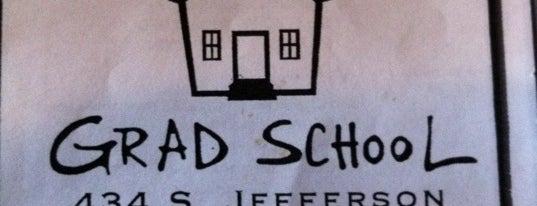 Grad School is one of Favorite Food.