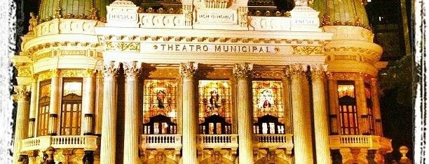 Rio de Janeiro Municipal Theatre is one of Rio Pra Mim.