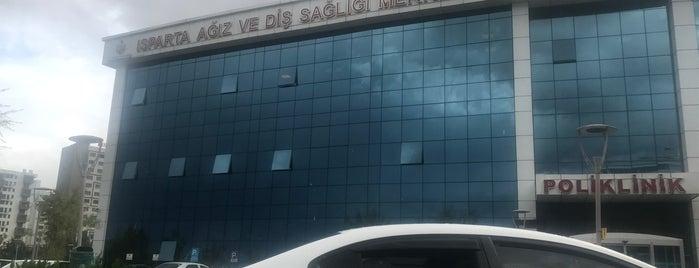 Isparta Ağız ve Diş Sağlığı Merkezi is one of Orte, die 🍀Ahmet gefallen.