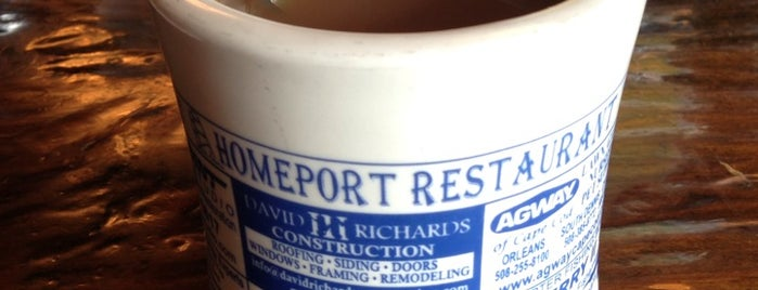 Homeport Restaurant is one of Best Cape Cod.
