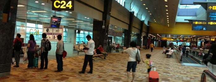 Gate C24 is one of SIN Airport Gates.