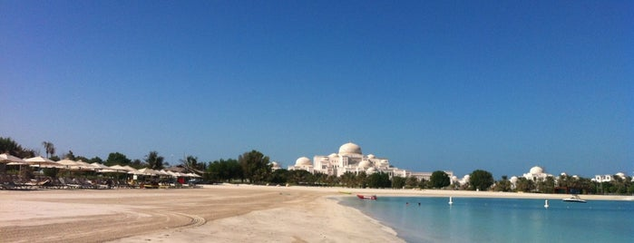 Emirates Palace Beach شاطئ قصر الإمارات is one of 2016 - DXB.