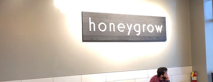 Honeygrow is one of Lunch Time_Chicago.