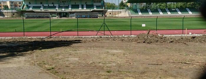 Letný štadión MFK Skalica is one of Futbalové štadióny ObFZ Senica.