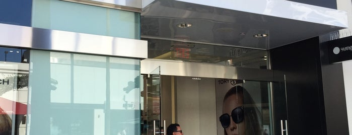 Sunglass Hut is one of L.A..