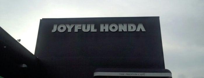 Joyful Honda is one of ショップ.