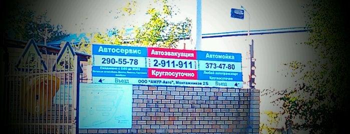 Амур-Авто is one of ___.