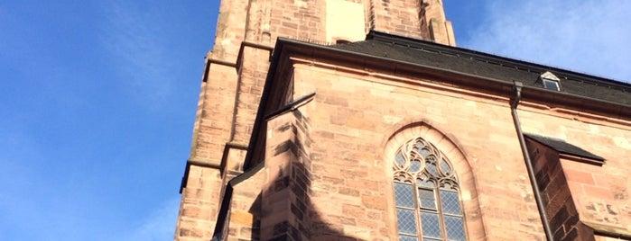 Heiliggeistkirche is one of Heidelberg/ Germany.