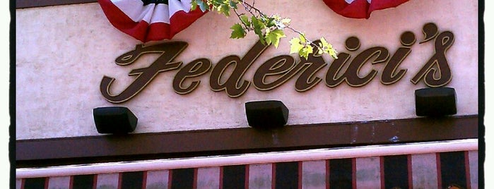 Federici's Family Restaurant is one of Rob's Food Spots.