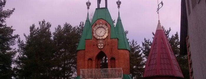 Сосновый Бор is one of SPB.