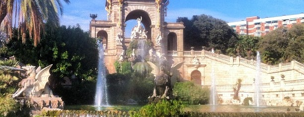 Parque de la Ciudadela is one of Barcelona, Spain.
