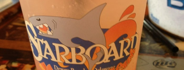 The Starboard is one of Best Bars in Delaware to watch NFL SUNDAY TICKET™.
