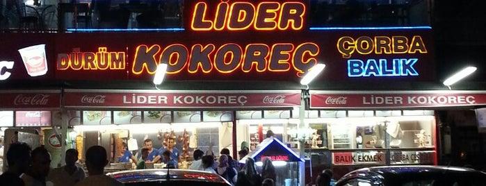 Lider Kokoreç is one of En iyileri.