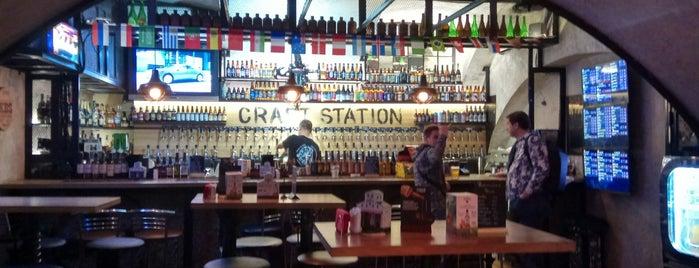 Craft Station 2 is one of Крафтовое пиво в Москве.