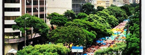 Feira de Artes e Artesanato de Belo Horizonte (Feira Hippie) is one of BH.